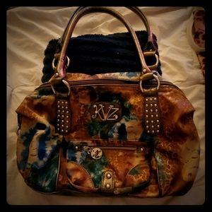 Kathy Van Zeeland Handbag *Fall Multi Color*
